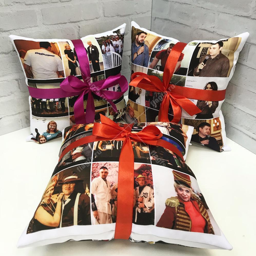 Заказать подушку с картинками
